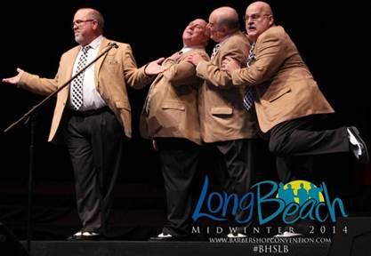Barbershop Quartet Champions Quartet Champions 2014